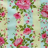 Papier - S753 - Servítky - ružové kvietky, kvetinky - 7046419_
