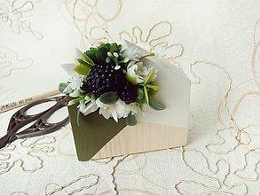Dekorácie - dekorácia Flowering House III. - 7046533_