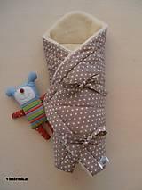 Textil - Perinka hviezda MERINO TOP béžová - 7043436_