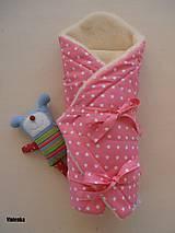 Textil - Perinka pre novorodenca ovčie runo MERINO TOP - 7043522_