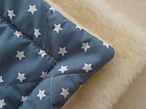 Textil - Zavinovačka pre bábätka/ miminká ovčie runo MERINO TOP - 7043554_