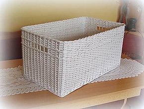 Košíky - Košík s otvorom - 7043860_