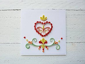Papiernictvo - svadobná pohľadnica - 7044332_