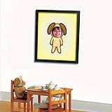 Grafika - Zvierací kostým vo farebnej hmle s vlastnou fotkou - 7044973_