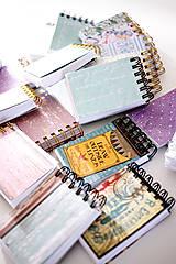 Papiernictvo - Mini ružový *do kabelky - 7047307_