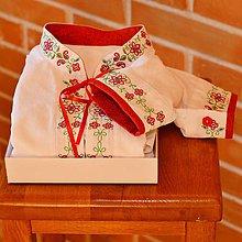 Oblečenie - Folk košeľa farebný vzor - 7047882_