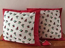 Úžitkový textil - vankúšik včielky - 7048812_