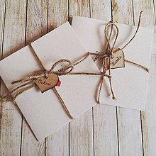 Darčeky pre svadobčanov - Poďakovania pre rodičov Natural - 7047375_