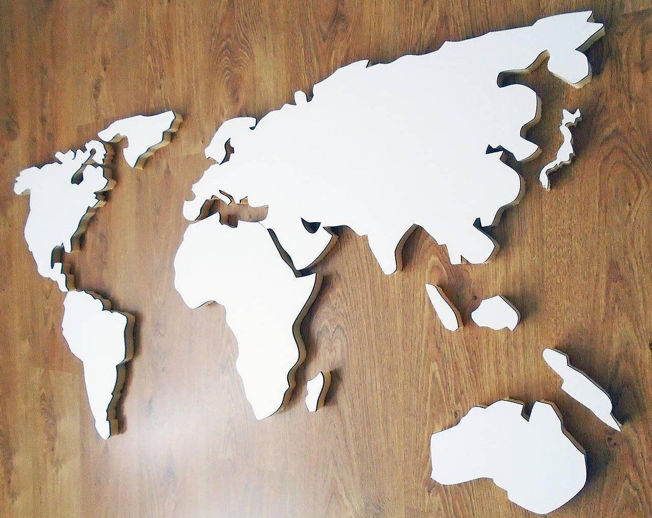 mapa sveta 3d 3D mapa sveta na stenu 60x120cm / 3dshop   SAShE.sk   Handmade  mapa sveta 3d