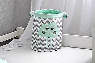 Detské doplnky - úložný  box na hračky mráčik, 30X30 - 7048379_