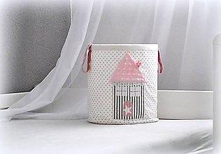 Detské doplnky - úložný  box na hračky, 30X30 - 7048394_