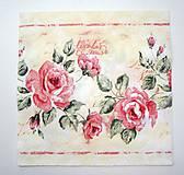 - Servítka K2- Ruže vintage - 7050247_