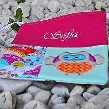 Textil - Vrecko na lavicu Sovička - 7048711_