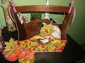 Košíky - jesenný piknikový... - 7048224_