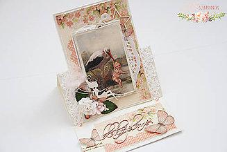 Papiernictvo - Blahoželanie k narodeniu dievčatka - 7051304_
