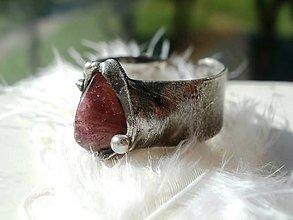Prstene - Nežný turmalín - tiffany - 7051317_
