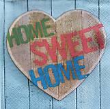 Papier - S759 - Servítky - dom, domov, sweet, home - 7050463_
