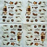 Papier - S756 - Servítky - coffee, káva, latté, epresso - 7050558_