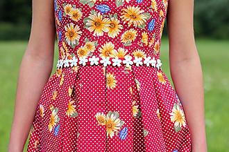 Šaty - Folkové A - CENA PADÁ - 7052681_