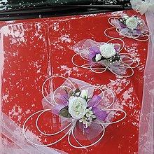 Darčeky pre svadobčanov - Výzdoba svadobného auta-