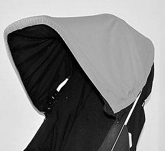 Textil - Chránič striešky pre kočík Brio Go - 7052913_
