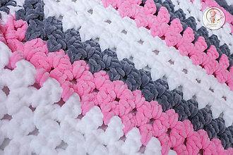 Textil - Háčkovaná detská deka - 7053656_