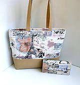 Veľké tašky - Taška a peňaženka Paris - 7053264_