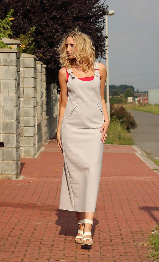 Světlešedá šatová sukně   ladeesse - SAShE.sk - Handmade Šaty d8241c420f