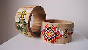 Drevený šperk - Héj voľky nevoľky
