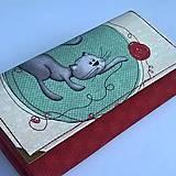 - Kočičí - peněženka  - 7058719_