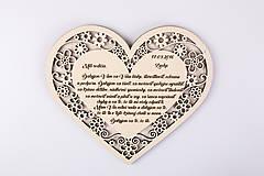 Darčeky pre svadobčanov - Poďakovanie rodičom - 7055664_