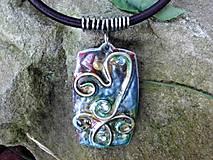 - náhrdelník abstraktný - 7055633_