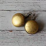 - Náušnice na francúzskych háčikoch Glamour gold II. - 7055490_