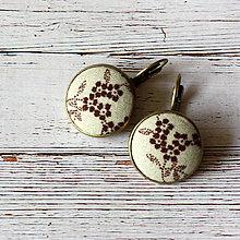Náušnice - Náušnice na francúzskych háčikoch Very little flowers - 7055516_