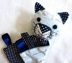 Hračky - Mojkáčik mačka - Kocúrik z Bodkového Modra - 7056944_