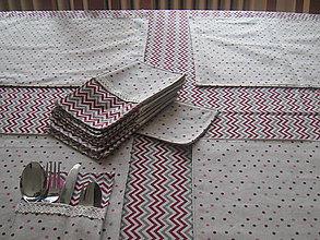 Úžitkový textil - Obrus, prestieranie a obaly na príbor - 7056668_