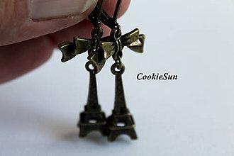Náušnice - In Love In Paris... Bronze - 7058711_