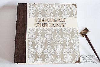 """Papiernictvo - Kronika """"Château Gbeľany """" / na zákazku :) - 7056831_"""