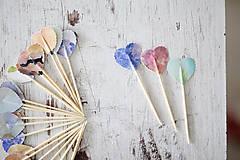 Dekorácie - Napichovátka - candy bar WATERCOLOR - 7061271_