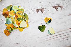 Papiernictvo - Svadobné konfety - výzdoba- watercolor - 7061338_