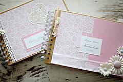 Papiernictvo - Svadobná scrapbook sada - 7061620_