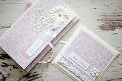 Papiernictvo - Svadobná scrapbook sada - 7061621_