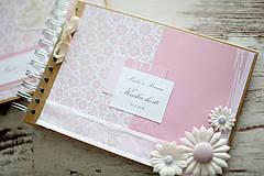 Papiernictvo - Svadobná scrapbook sada - 7061622_
