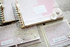Papiernictvo - Svadobná scrapbook sada - 7061624_