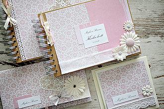 Papiernictvo - Svadobná scrapbook sada - 7061625_