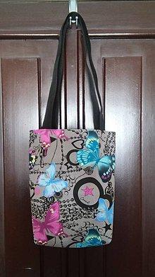 Veľké tašky - Motýliková taška - PREDANÁ - 7060124_