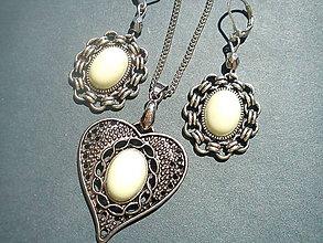 Sady šperkov - Sada - Chryzopras citrónový - 7060244_