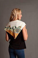 """Šatky - Trojcípý šátek """"Australian"""" - SD-D-007 - 7059996_"""
