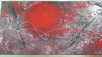 Obrazy - Krvácajúca planéta - 7060762_