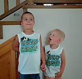 Detské oblečenie - Veľký a malý brat - 7063118_